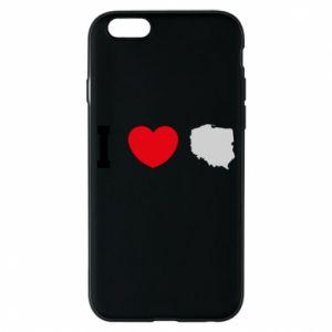Etui na iPhone 6/6S Lubię Polskę