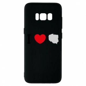 Etui na Samsung S8 Lubię Polskę