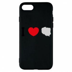 Etui na iPhone 8 Lubię Polskę