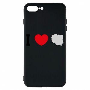 Etui na iPhone 8 Plus Lubię Polskę