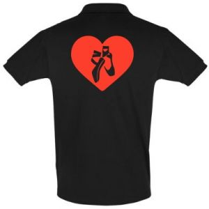Koszulka Polo Lubię tańczyć
