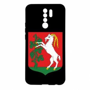 Etui na Xiaomi Redmi 9 Lublin herb