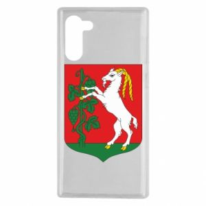 Samsung Note 10 Case Lublin coat of arms
