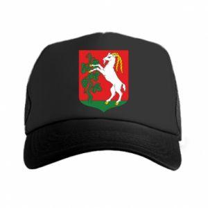 Trucker hat Lublin coat of arms