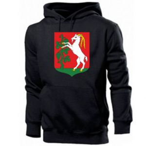 Men's hoodie Lublin coat of arms