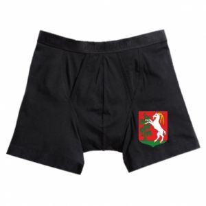 Boxer trunks Lublin coat of arms