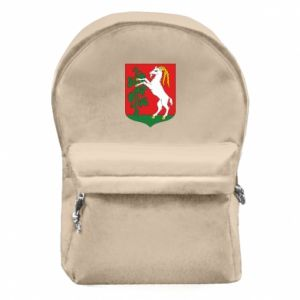 Backpack with front pocket Lublin coat of arms