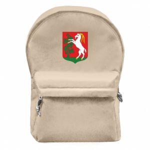 Plecak z przednią kieszenią Lublin herb