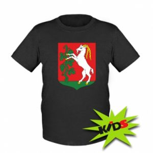 Kids T-shirt Lublin coat of arms