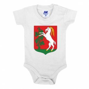 Baby bodysuit Lublin coat of arms