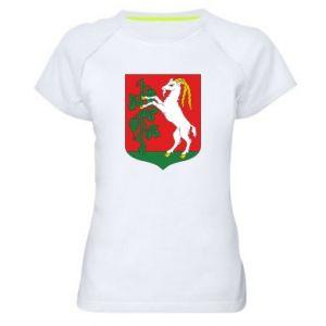 Koszulka sportowa damska Lublin herb