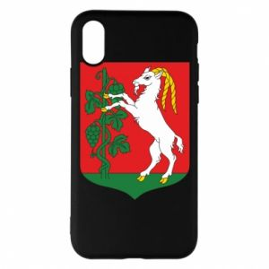 Phone case for iPhone X/Xs Lublin coat of arms