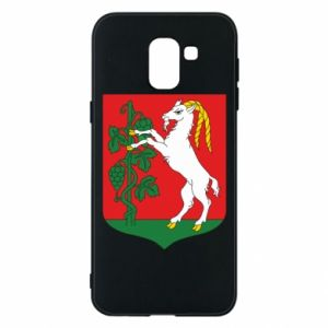 Phone case for Samsung J6 Lublin coat of arms