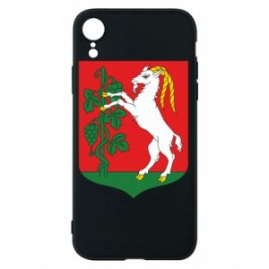 Phone case for iPhone XR Lublin coat of arms