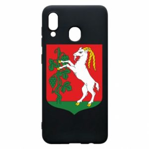 Phone case for Samsung A20 Lublin coat of arms