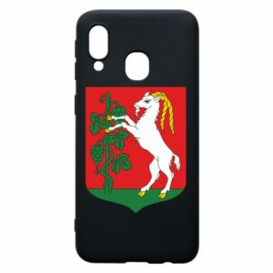 Phone case for Samsung A40 Lublin coat of arms