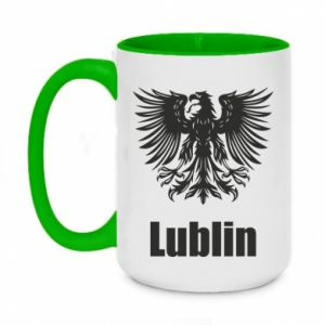 Two-toned mug 450ml Lublin