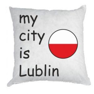 Poduszka My city is Lublin