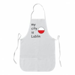 Fartuch My city is Lublin