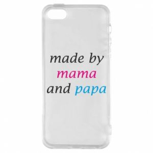 Etui na iPhone 5/5S/SE Made by mama and papa