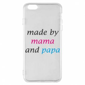 Etui na iPhone 6 Plus/6S Plus Made by mama and papa