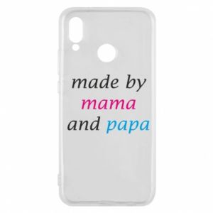 Etui na Huawei P20 Lite Made by mama and papa