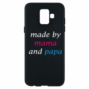 Etui na Samsung A6 2018 Made by mama and papa