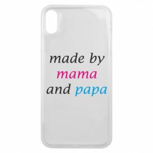 Etui na iPhone Xs Max Made by mama and papa