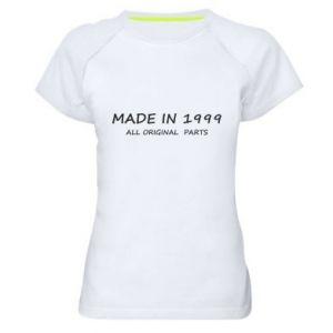 Koszulka sportowa damska Made in 1999