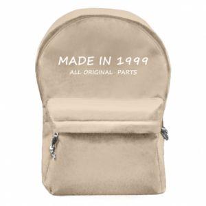 Plecak z przednią kieszenią Made in 1999