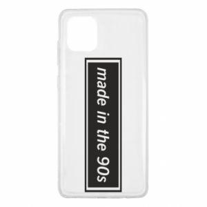 Etui na Samsung Note 10 Lite Made in 90s