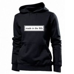 Women's hoodies Made in 90s