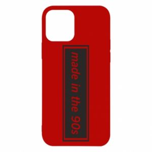 Etui na iPhone 12/12 Pro Made in 90s