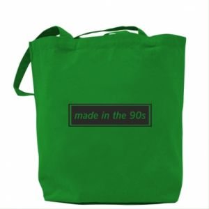 Bag Made in 90s