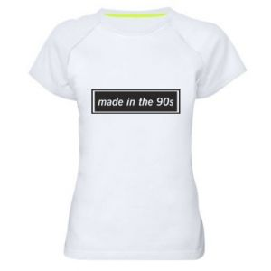 Women's sports t-shirt Made in 90s