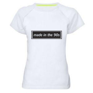 Koszulka sportowa damska Made in 90s