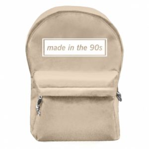 Backpack with front pocket Made in 90s