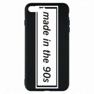 Phone case for iPhone 8 Plus Made in 90s