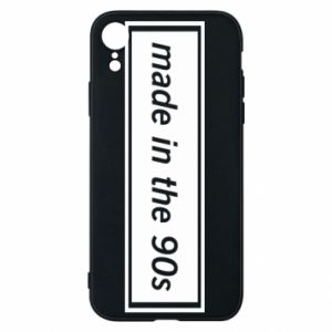 Phone case for iPhone XR Made in 90s