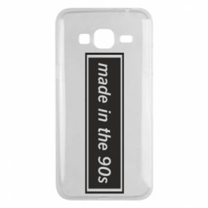 Phone case for Samsung J3 2016 Made in 90s