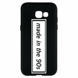Phone case for Samsung A5 2017 Made in 90s