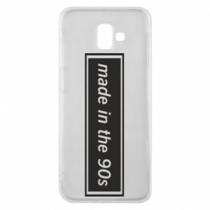 Phone case for Samsung J6 Plus 2018 Made in 90s