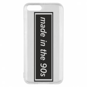 Phone case for Xiaomi Mi6 Made in 90s