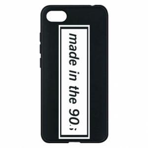 Phone case for Xiaomi Redmi 6A Made in 90s
