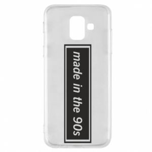 Phone case for Samsung A6 2018 Made in 90s