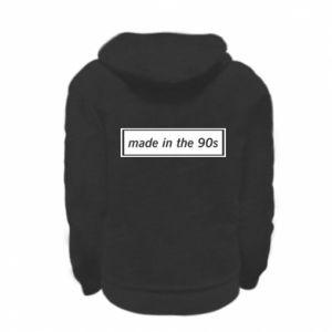 Bluza na zamek dziecięca Made in 90s