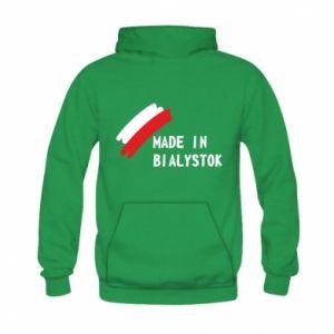 Bluza z kapturem dziecięca Made in Bialystok