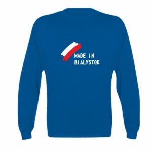 Bluza dziecięca Made in Bialystok