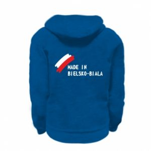 Kid's zipped hoodie % print% Made in Bielsko-Biala