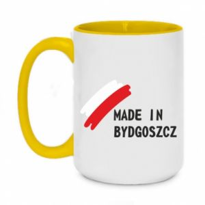 Two-toned mug 450ml Made in Bydgoszcz